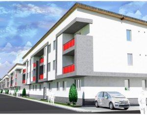 Apartament cu 2 camere, cu gradina de 45 mp, situat in Floresti, zona Terra