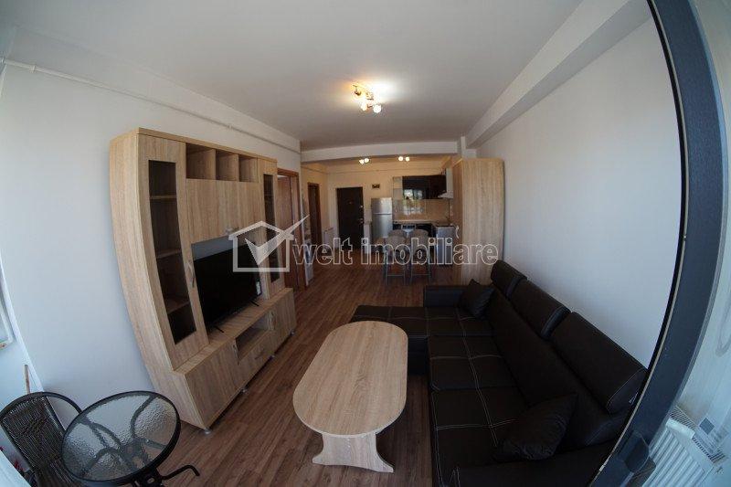 Inchiriem apartament 2 camere, zona centrala, etaj intermediar, constructie noua