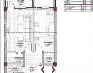 Appartement 1 chambres à vendre dans Cluj-napoca, zone Baciu