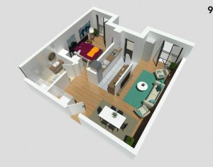 Apartment 2 rooms for sale in Cluj-napoca, zone Buna Ziua