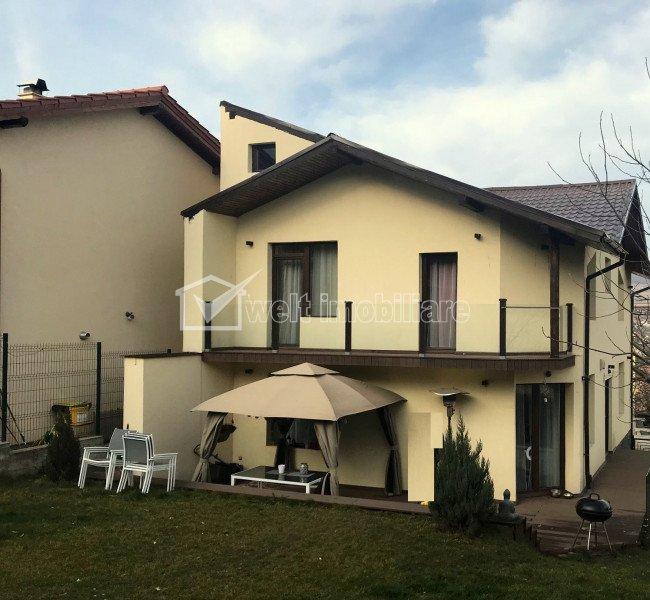 Casa noua de vanzare in Gruia, 192 mp, teren 500 mp, ultrafinisata, mobilata lux