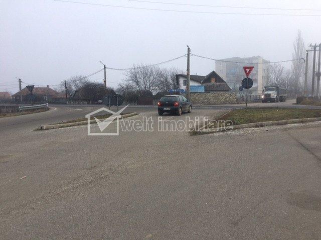 Teren cu PUZ aprobat DN1C Rascruci - Cluj km30