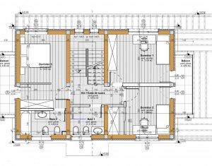 Casa individuala de vanzare, suprafata utila 120 mp, teren de 356 mp, Apahida !