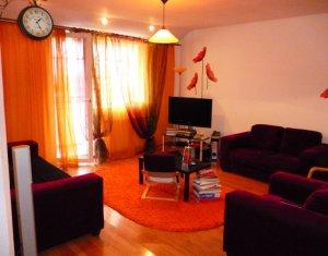 Apartament 4 camere, 2 bai, bloc nou, finisat, mobilier de lux, 110 mp, Manastur