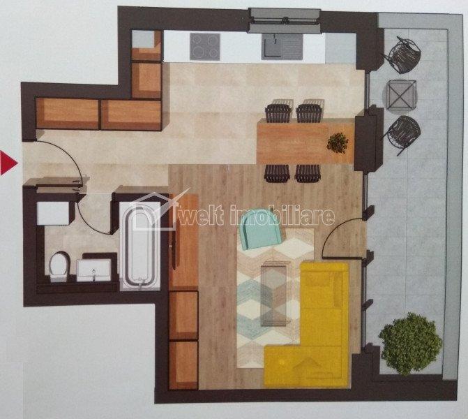 Appartement 1 chambres à vendre dans Cluj-napoca, zone Buna Ziua