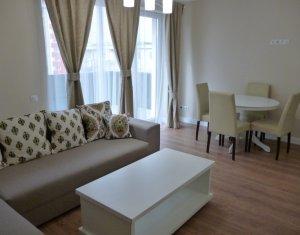 Apartament 2 camere, bloc nou, finisat si mobilat de lux, terasa, Intre Lacuri