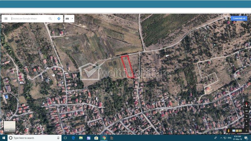Teren de vanzare in Dambul Rotund