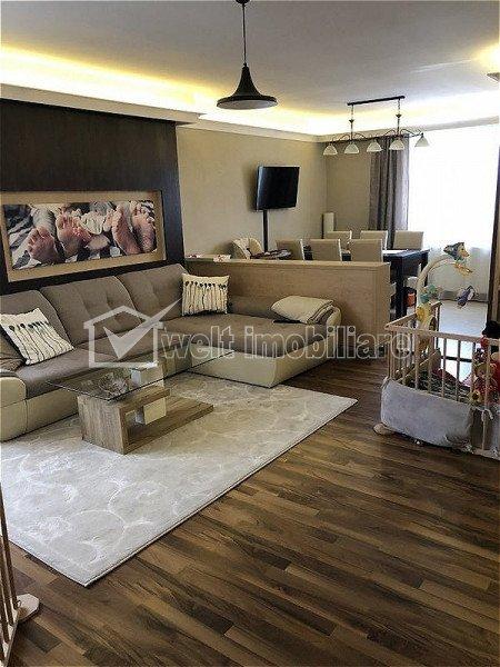 Apartament 3 camere, ultrafinisat, 85mp, Gheorgheni