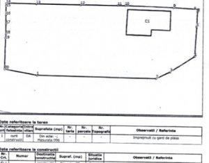 Vanzare teren de bloc, Marasti, 1000 mp, front 22 ml, incadrare Rrm2