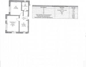 Apartament 2 camere constructie noua cu CF si loc de parcare zona Donath Park