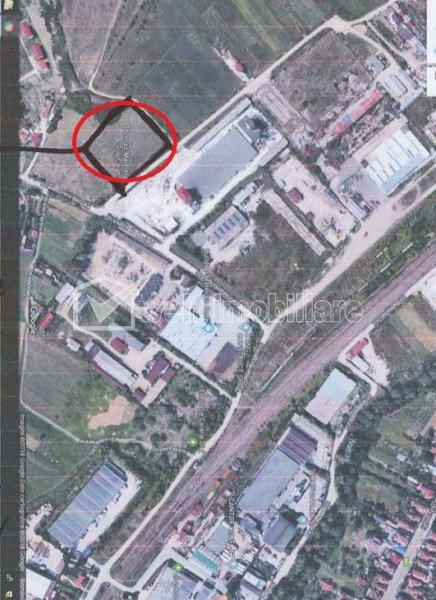 Teren in zona industriala, zona Cheile Baciului, zona de hale POT 0,3%, CUT 0,6%