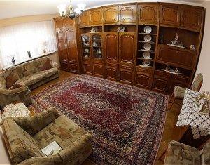 Apartament 3 camere, decomandat, mobilat si utilat, Marasti